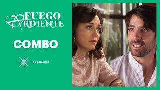 Fuego ardiente: ¡Laura y Alfonso le revelan la verdad a Fernando! | C-69 | Las Estrellas
