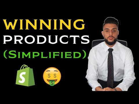 How To Find Winning Products Dropshipping 2019 (Simplified) thumbnail