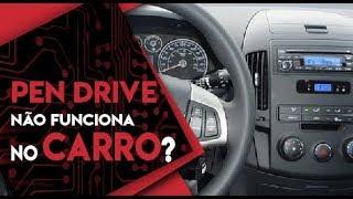 Pen drive não toca no radio do carro - Como resolver