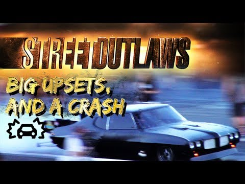 Download Youtube: Street Outlaws Big Upsets, and a Crash