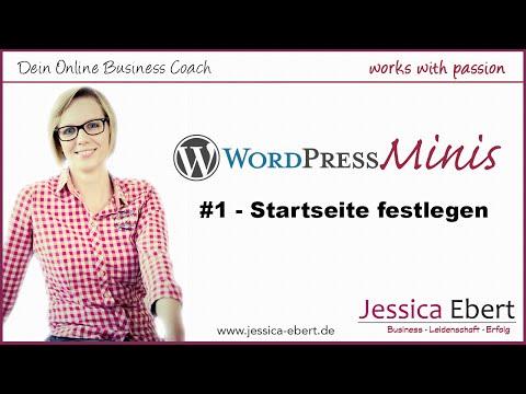 Wp Minis #1 – WordPress Startseite erstellen / festlegen