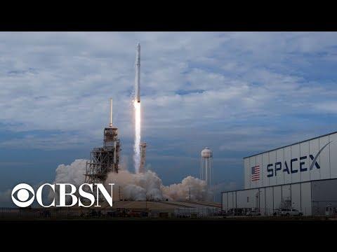 SpaceX Falcon 9 Nusantara Satu rocket launch, live stream