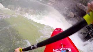 gopro nick troutman kayaking off cumberland falls ky
