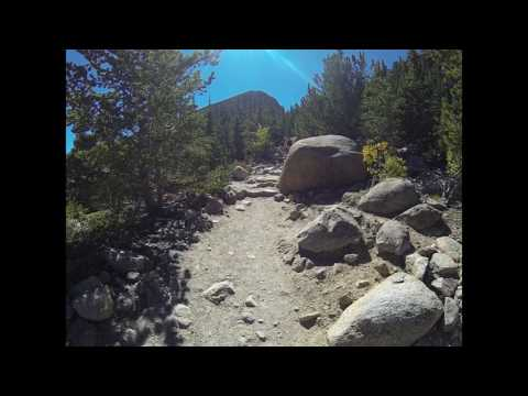 Trail of Highways™ Glacier Gorge Trail Hike to Mills Lake on to Bear Lake 9 20 15 Sq  6