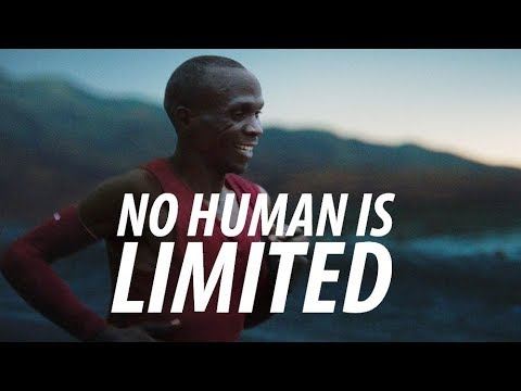 NO HUMAN IS LIMITED Running Motivation