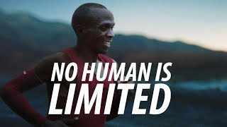 NO HUMAN IS LIMITED - Running Motivation