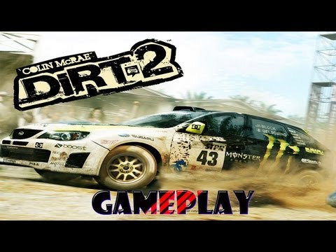 DIRT 2 - PSP - Gameplay / Review - Rally y Suciedad