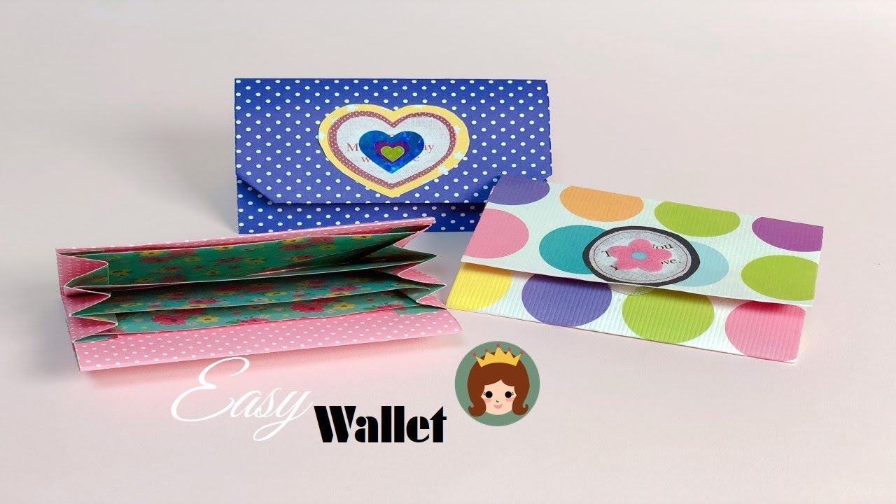 유아도 접을 수 있는 쉬운 종이접기 지갑 접기 : 네이버 블로그