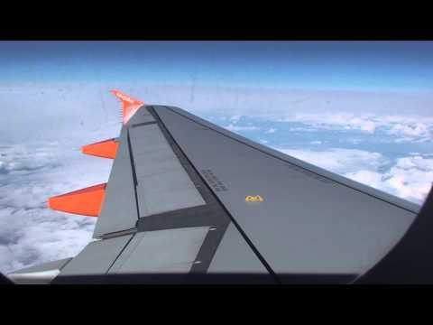 Onboard Easyjet Flight EZY2123. London Luton, England, UK to Nice Côte dAzur, Southern France