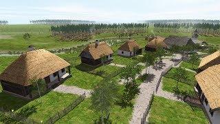 Ostriv — новый уютный симулятор градостроителя. Строим деревню. Рекомендую.