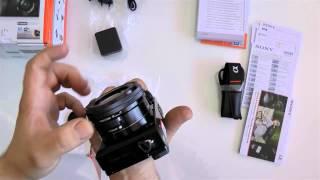 Unboxing de la  Camara Sony A6000 por PSN Andy y Lucas