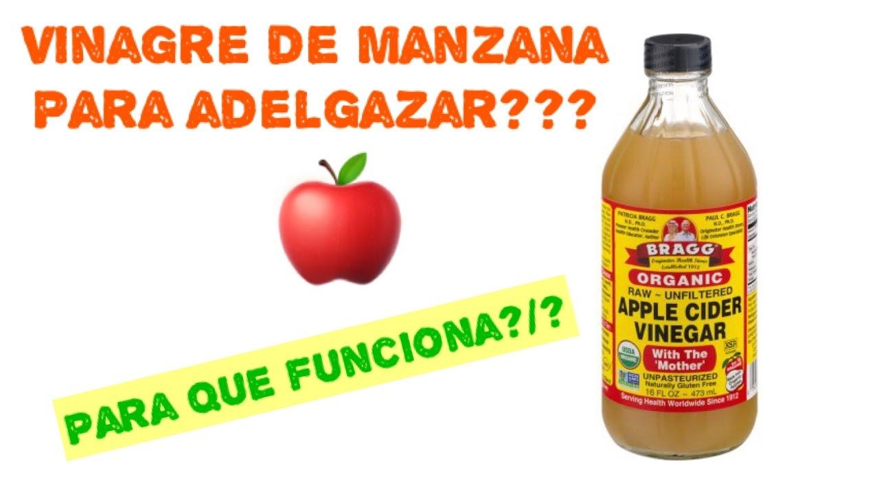 Para que sirve el vinagre de manzana para adelgazar