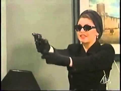 مسلسل ماريا ابنة الحي - لحظة قتل ثريا الدكتور ميخيا