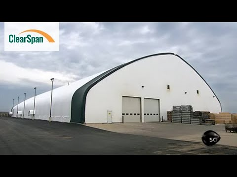 ClearSpan Fabric Structures On The Science Channel's