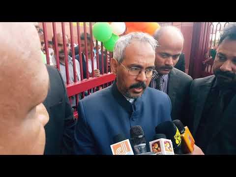 Kuwait indain ambassador addressing. Media