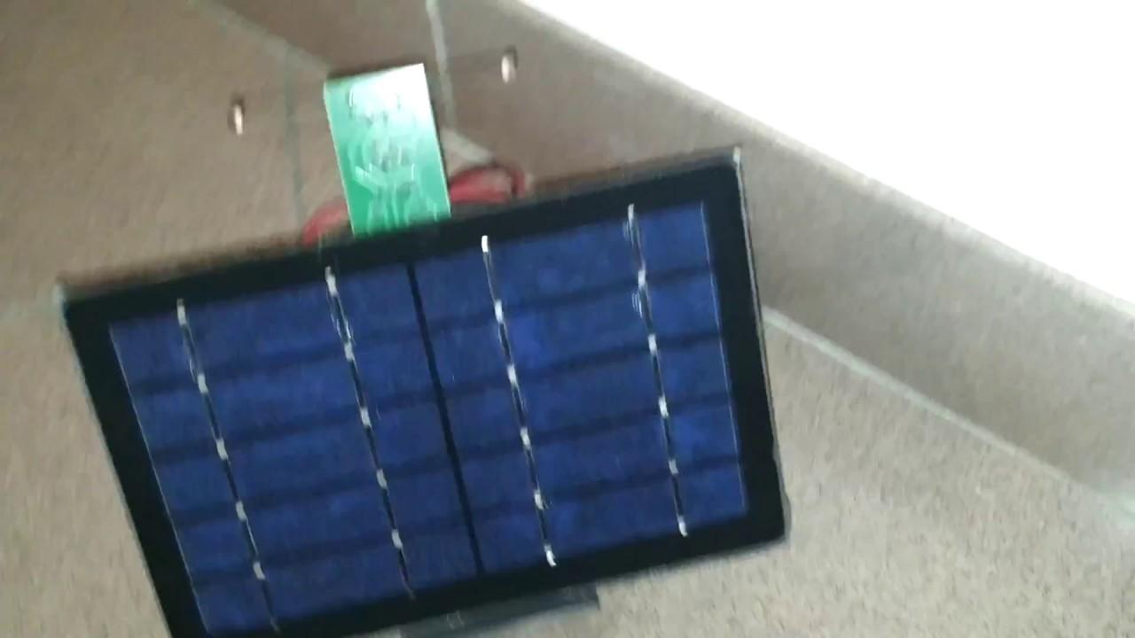 Valvola Pannello Solare Usb : Inseguitore solare auto costruito pannello batterie