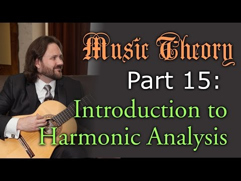 Music Theory: Introduction to Harmonic Analysis