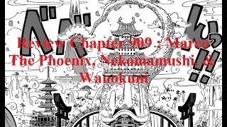 Review Chapter 909 : Marco The Phoenix, Nekomamushi, & Wanokuni