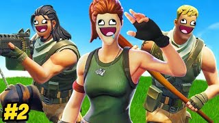 FORTNITE FUNNY FAILS \u0026 WINS! #02 ( Fortnite Battle Royale Funny Moments )