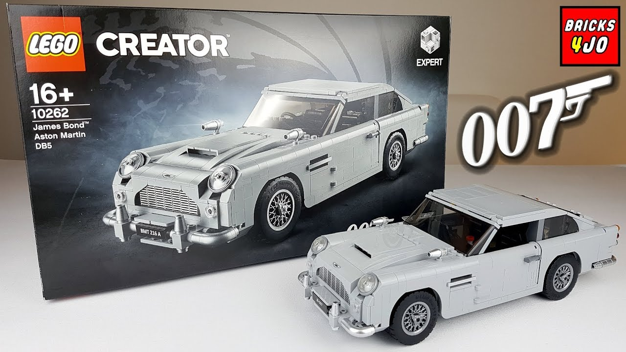 Lego 10262 James Bond 007 Aston Martin Db5 Creator Expert Review Deutsch