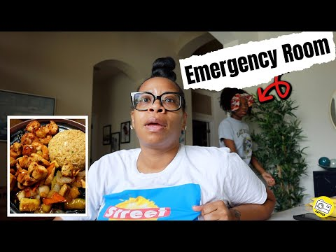 She Had To Go To The Emergency Room | Hibachi Grill At Home