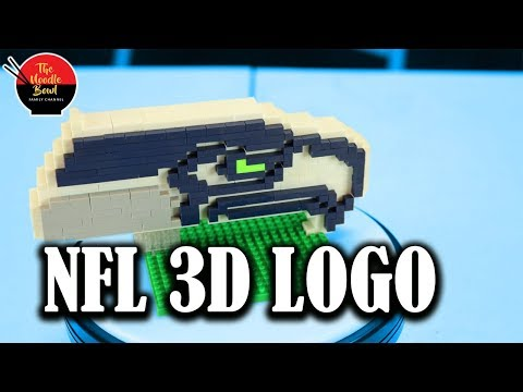 BRXLZ NFL Logo:  Seattle Seahawks Build and review