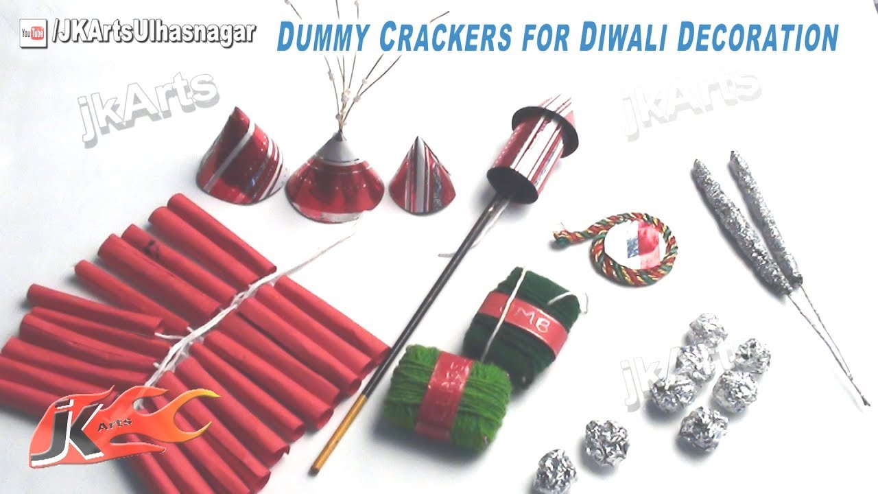 Dummy crackers for diwali decoration school project for diwali dummy crackers for diwali decoration school project for diwali jk arts 417 youtube solutioingenieria Image collections