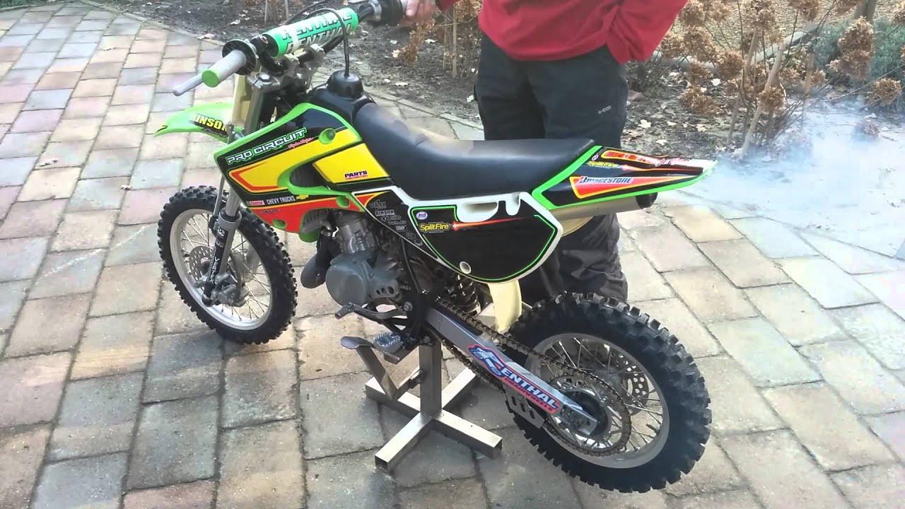 Kawasaki kx65 crossmotor te koop youtube - Te koop ...