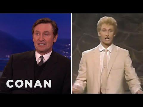Wayne Gretzky & Conan