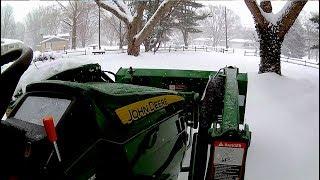2018 John Deere 1025r SNOW