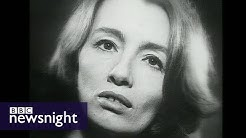 Interview with Christine Keeler in 1980 - Newsnight Archives