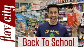 HUGE Back To School Snack Haul - What To Buy And Avoid!