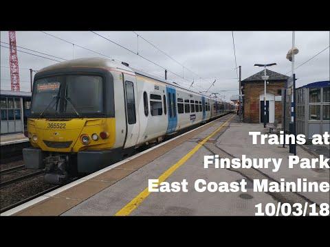 Trains at Finsbury Park, ECML | 10/03/18