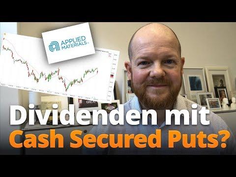 Dividenden kassieren mit Cash Secured Puts?