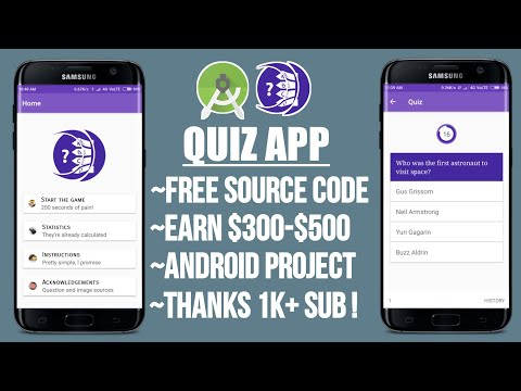 Trivia Quiz App Source Code || Free Android Studio Project Code
