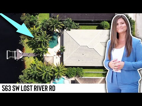 Stuart Water Front Home For Sale