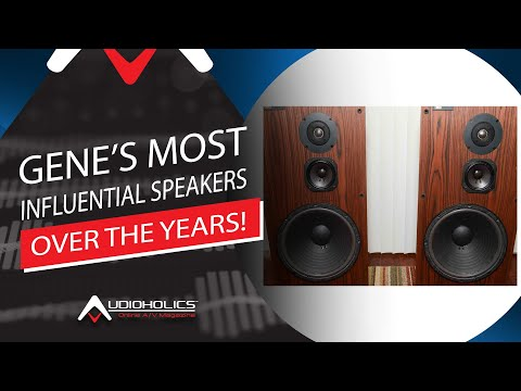 My Most Influential Loudspeakers Over The Years