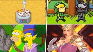 Evolution of The Legend of Zelda References in Other Games (1994 - 2019)