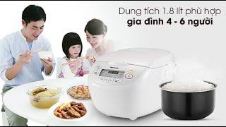 Nồi cơm điện tử Panasonic Nhật Bản dung tích 1.8L SR-CL188WRA sản xuất Malaysia chính hãng 100% nha