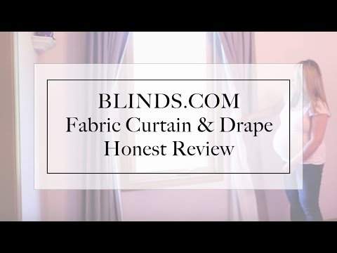 Blinds.com Custom Drapes Review
