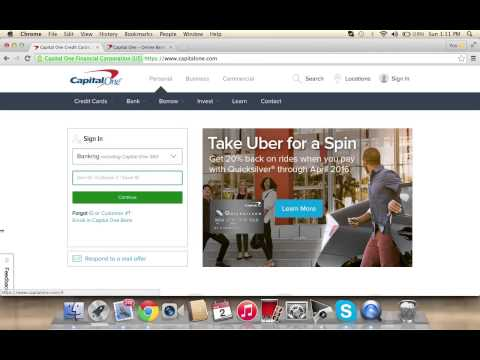 Capital One Online Banking Login | How To Access Your Account