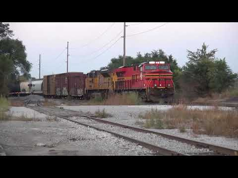 Metro East Rail Action 9/19/2017 Feat PRLX (Ex ATSF) 239 NS 8114 CN and More