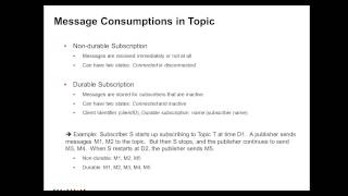 Durable vs Non durable Topic Subscription in PowerExchange for JMS