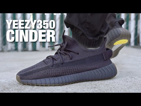 Adidas YEEZY 350 V2 CINDER Review & On Feet