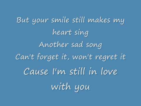 Jonas Brothers  Still in love with you lyrics