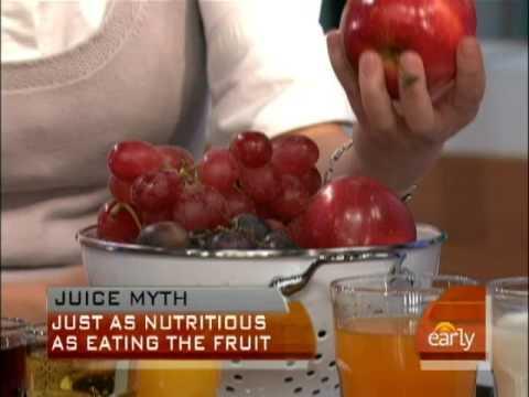 Healthy Juice Myths
