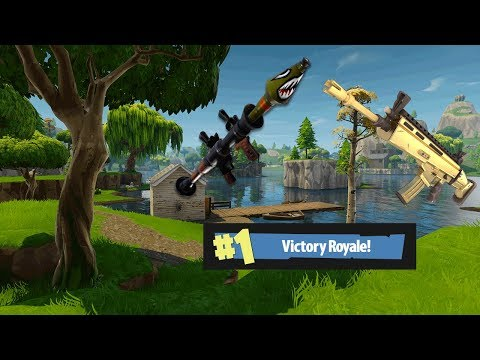 The Gold Scar and RPG Never Fail Me! (Fortnite Battle Royal)