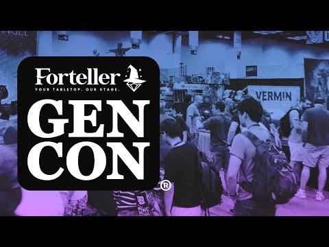 Forteller goes to Gen Con 2019!!