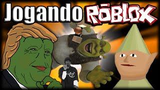 Playing Roblox-SHREK in the SPIRIT WORLD V2