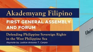 Akademyang Filipino first general assembly